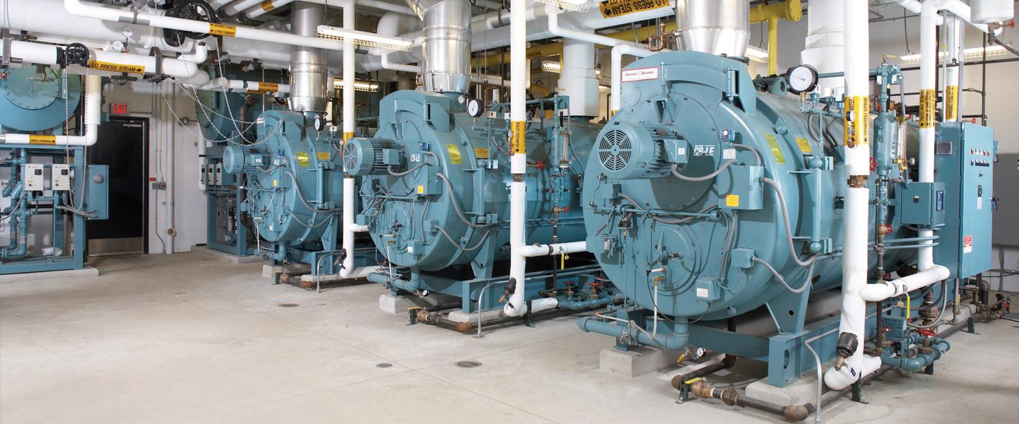 """Caldeiras industriais utilizadas como exemplo no post """"Como elaborar um Plano de Contingência""""."""